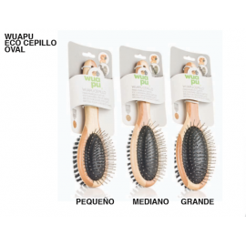 Wuapu Eco Cepillo Oval Doble para Perros y Gatos.