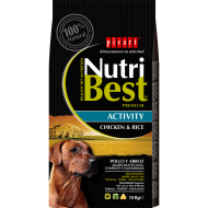 NutriBest Activity Pollo y Arroz 15 Kg