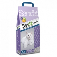 Arena natural Super Plus Sanicat 5L para Gatos