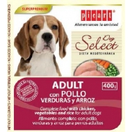 Select Dog Adult con pollo, verduras y arroz 400gr