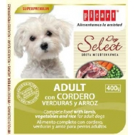 Select Dog Adult con cordero, verduras y arroz 400gr