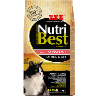 Nutribest cat sensitive salmón y arroz