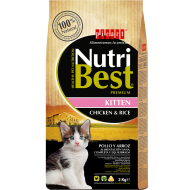 Nutribest cat Kitten Pollo y Arroz  8Kg