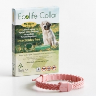 Ecolife Collar Natural Antiparasitario perros medianos.
