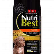 NutriBest Puppy con Pollo y Arroz 15Kg