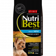 NutriBest AdultMini con Pollo y Arroz 10 Kg