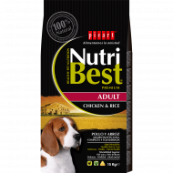 NutriBest Adult con Pollo y Arroz 15 Kg