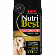 NutriBest Adult Sensitive con Salmón y Arroz 15Kg
