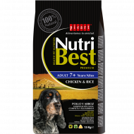 NutriBest Senior +7 años  Pollo y Arroz 15Kg