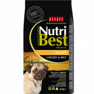 NutriBest Light con Pollo y Arroz 15 Kg